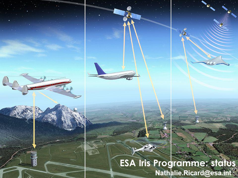 1 ESA Iris Programme: status Nathalie.Ricard@esa.int