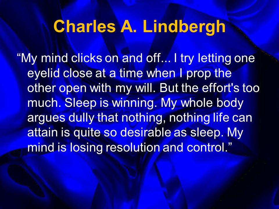 Sleep and Sleep Loss