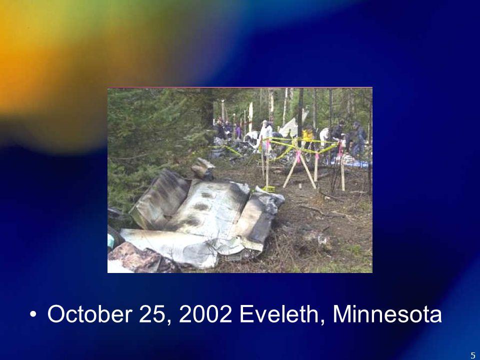 5 October 25, 2002 Eveleth, Minnesota