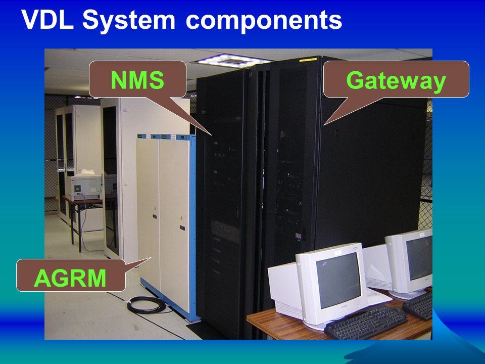 AGRM GatewayNMS VDL System components