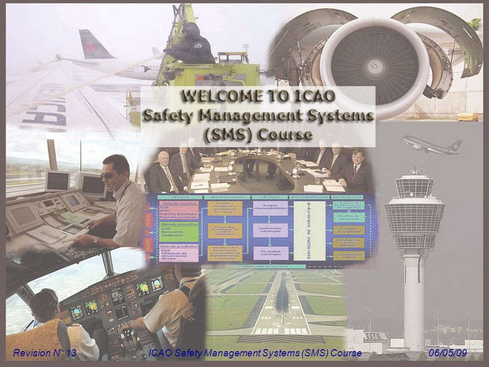 Module N° 1ICAO Safety Management Systems (SMS) Course 1 Revision N° 13ICAO Safety Management Systems (SMS) Course06/05/09