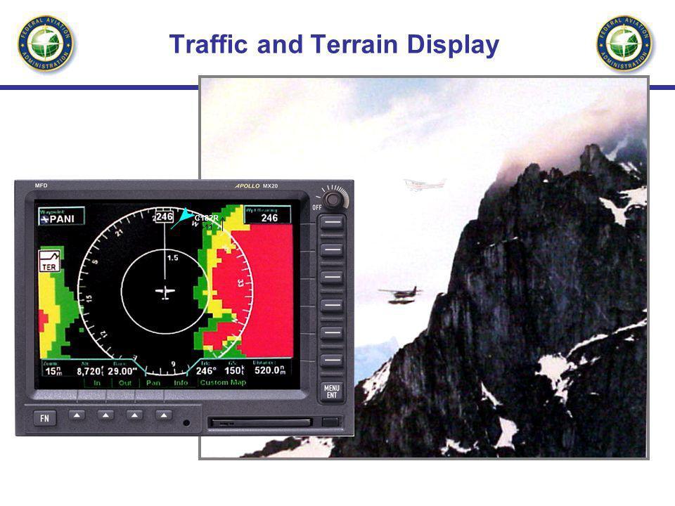 Traffic and Terrain Display C182R +11