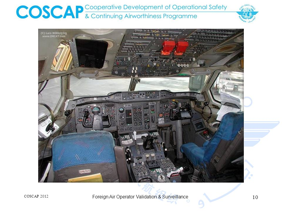 10 COSCAP 2012 Foreign Air Operator Validation & Surveillance