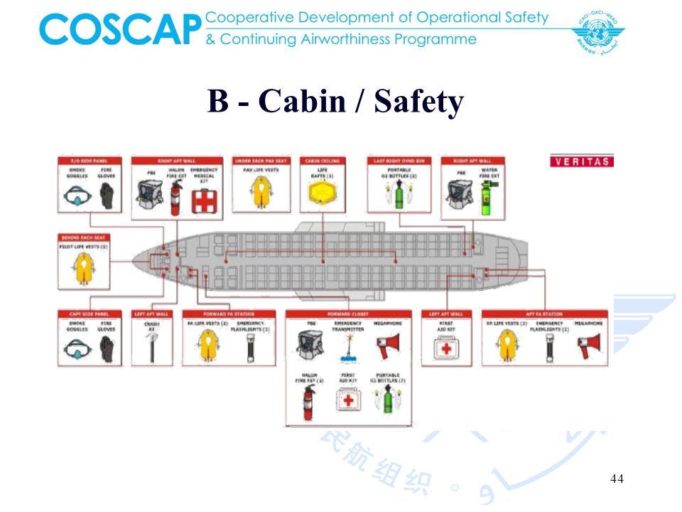 44 B - Cabin / Safety