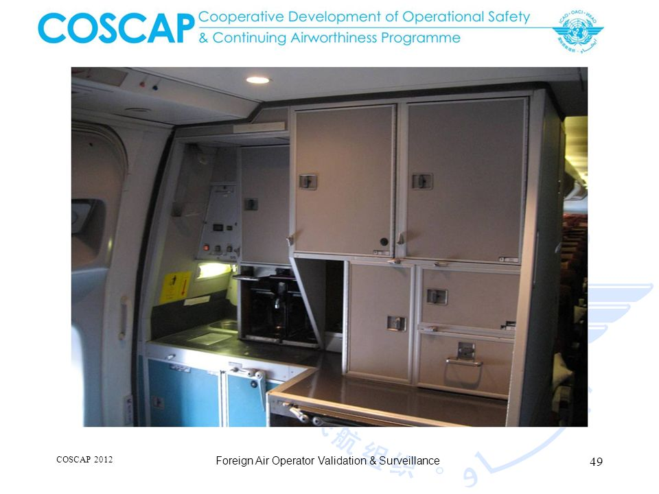 49 COSCAP 2012 Foreign Air Operator Validation & Surveillance