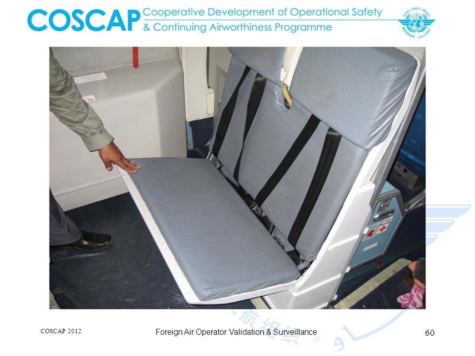 60 COSCAP 2012 Foreign Air Operator Validation & Surveillance