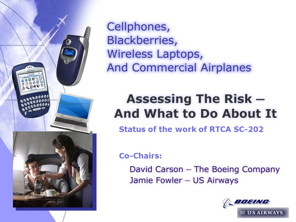 03/16/ Status of the work of RTCA SC-202 Co-Chairs: