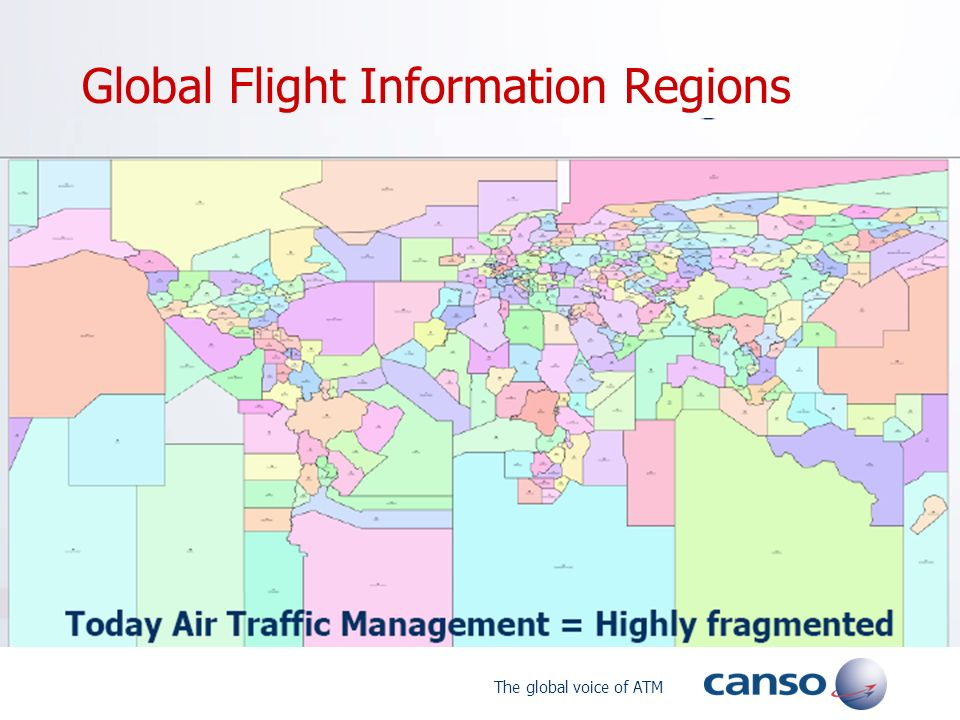 The global voice of ATM Global Flight Information Regions