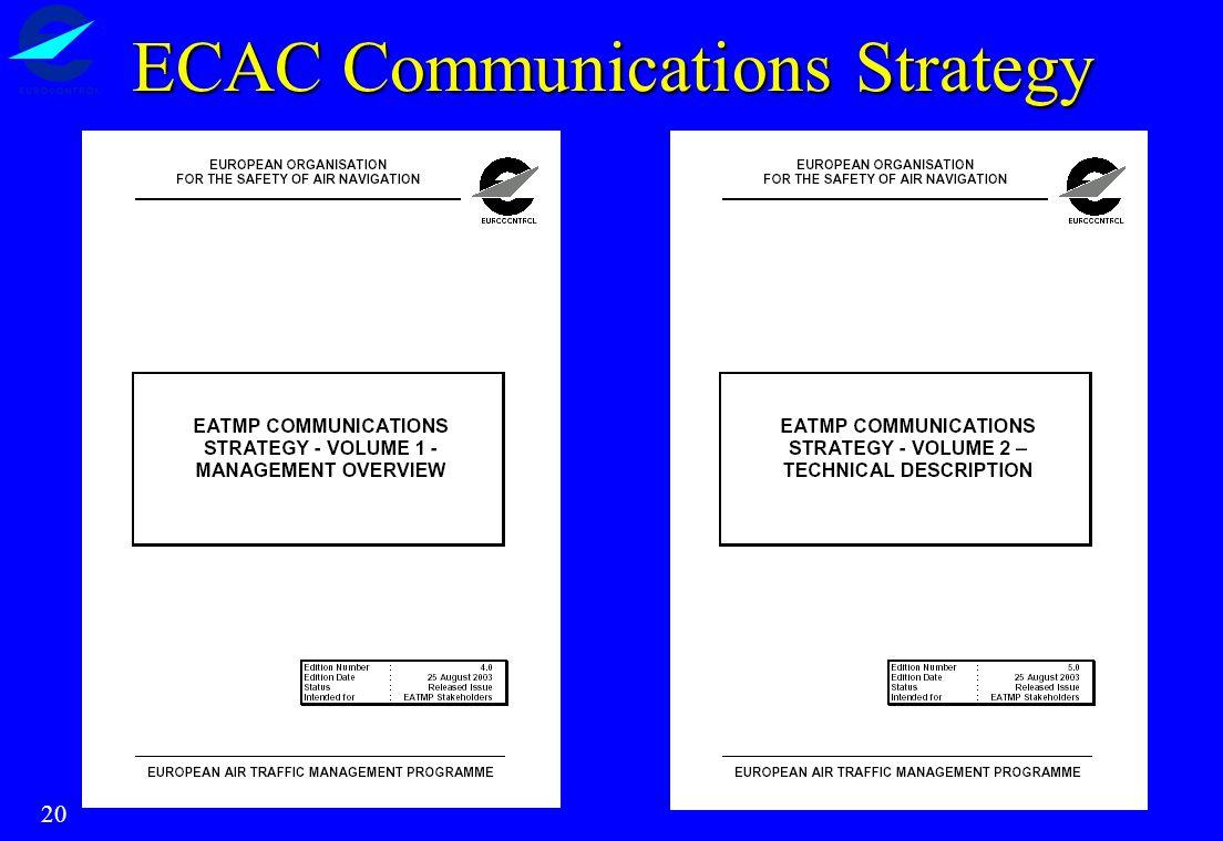 20 ECAC Communications Strategy
