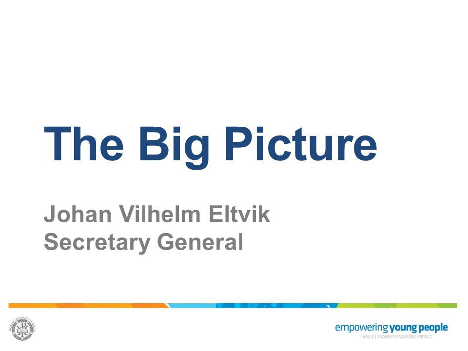 The Big Picture Johan Vilhelm Eltvik Secretary General