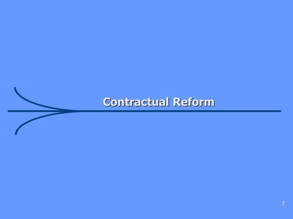 5 Contractual Reform