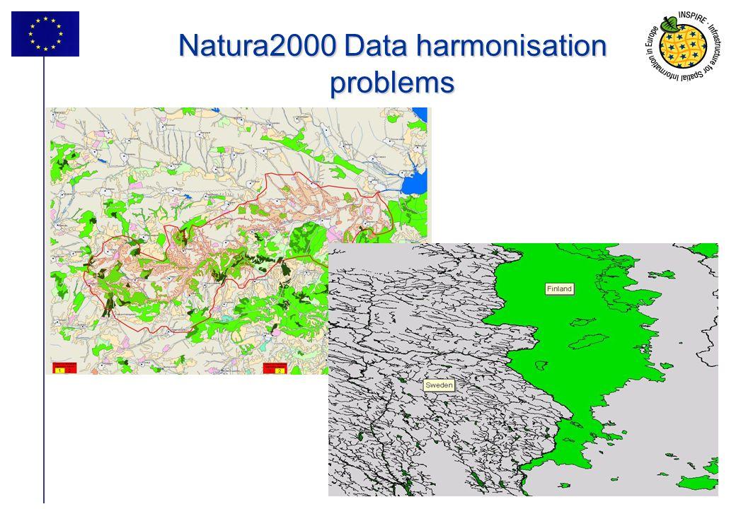 9 Natura2000 Data harmonisation problems