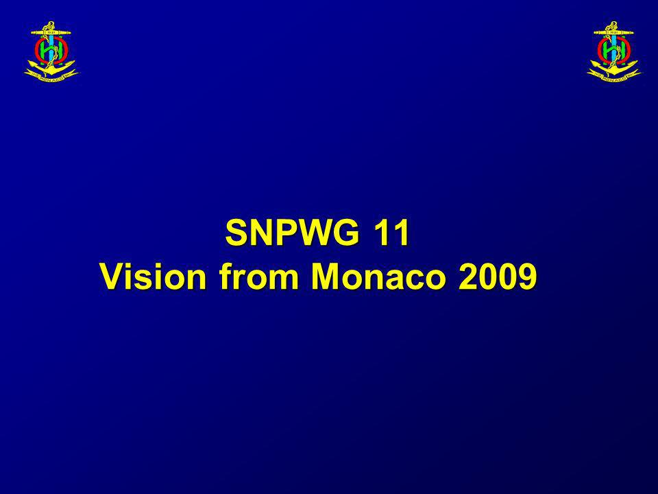 SNPWG 11 Vision from Monaco 2009