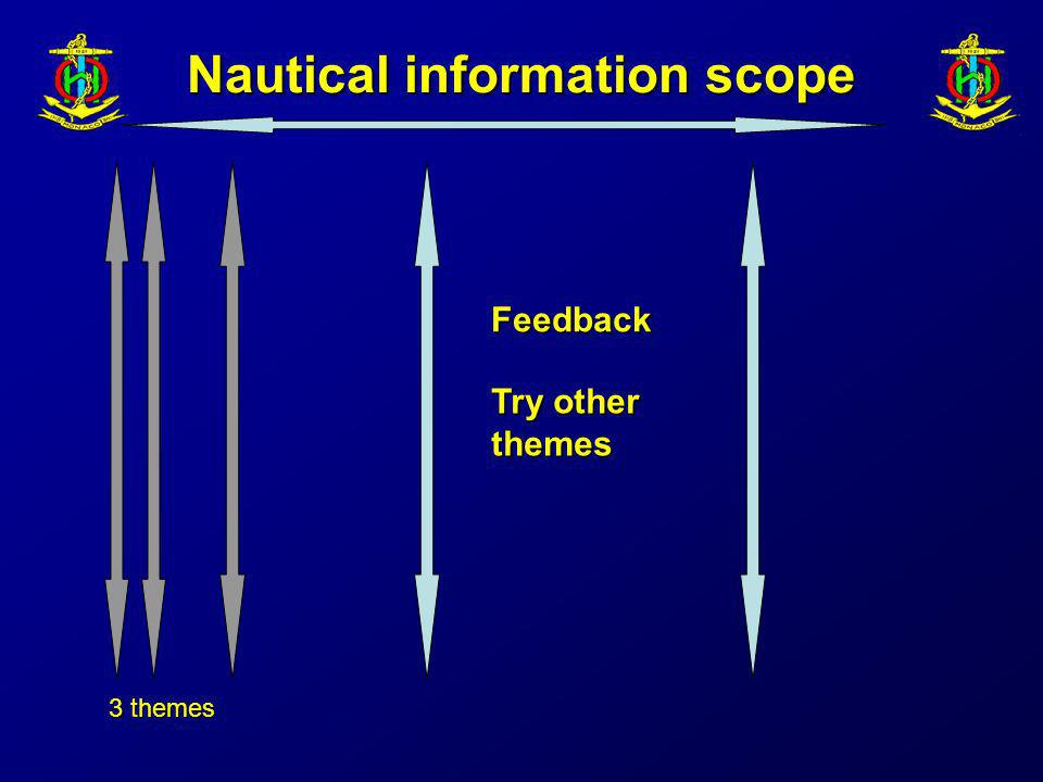 Nautical information scope 3 themes Feedback Try other themes
