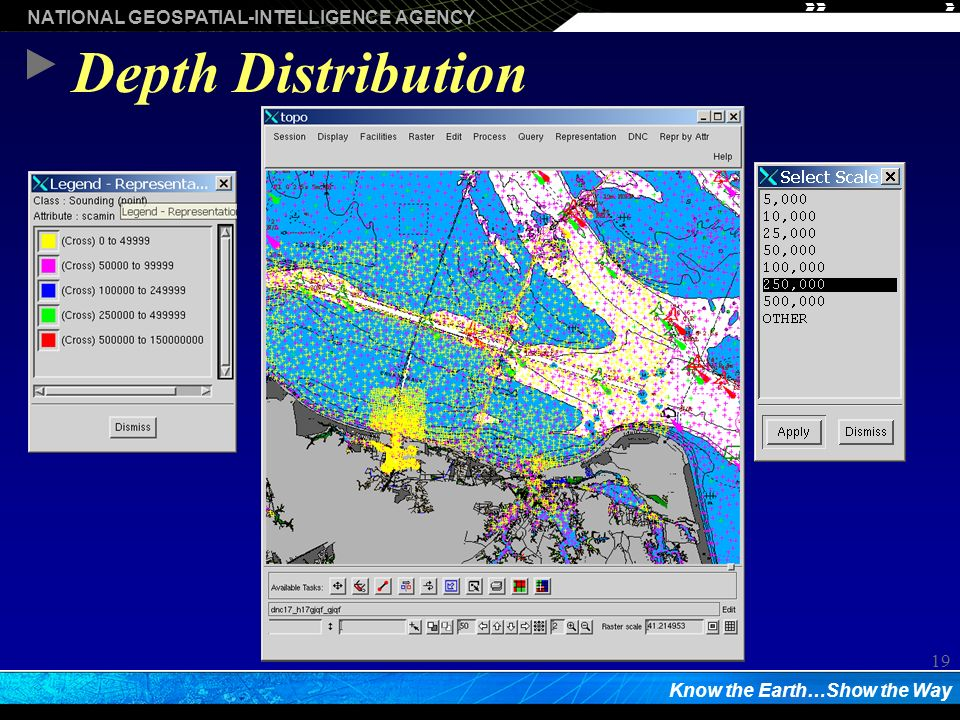 NATIONAL GEOSPATIAL-INTELLIGENCE AGENCY Know the Earth…Show the Way 19 Depth Distribution