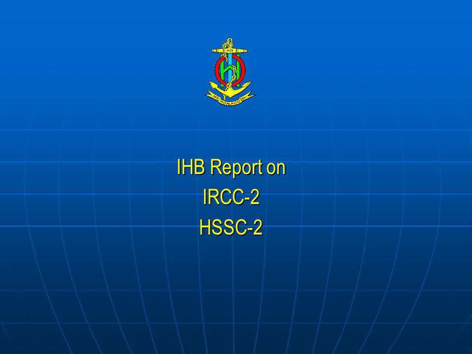 IHB Report on IRCC-2HSSC-2