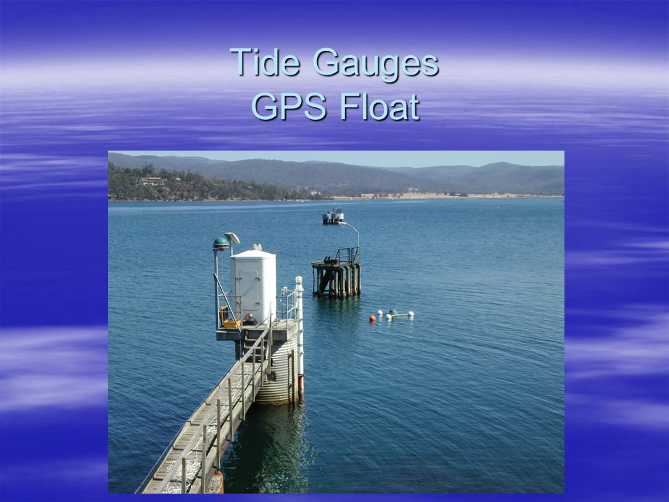 Tide Gauges GPS Float