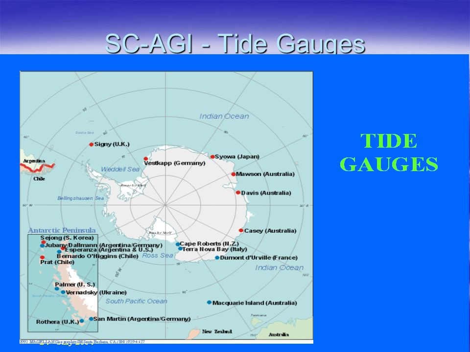SC-AGI - Tide Gauges SC-AGI - Tide Gauges
