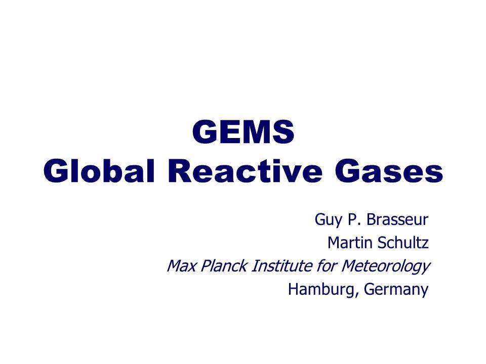 GEMS Global Reactive Gases Guy P.