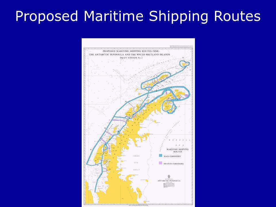 Proposed Maritime Shipping Routes