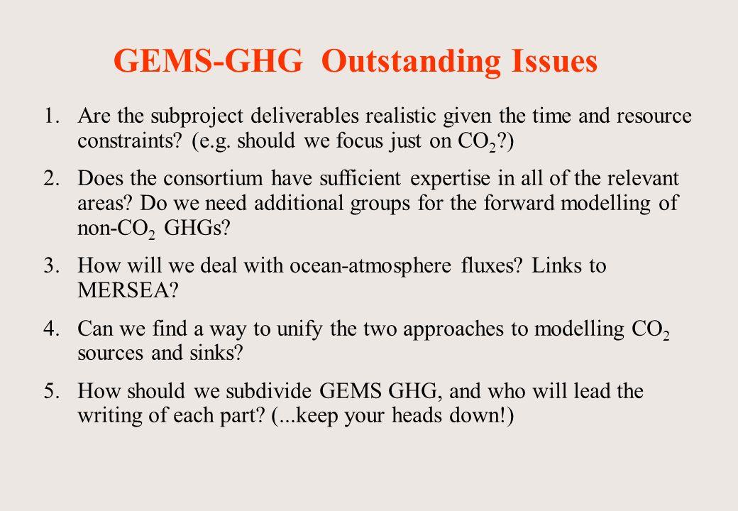 WP1: 4d retrieval of CO 2 from remote sensing ( WP leader: Richard Engelen, ECMWF)