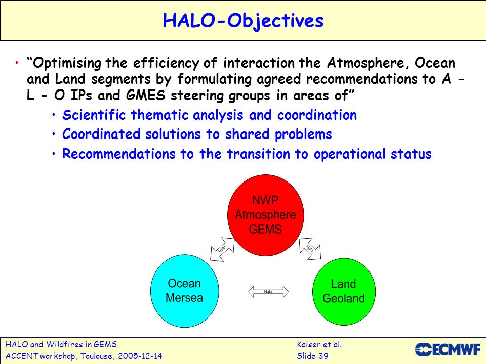 HALO and Wildfires in GEMSKaiser et al.