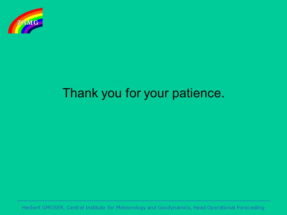 Thank you for your patience.