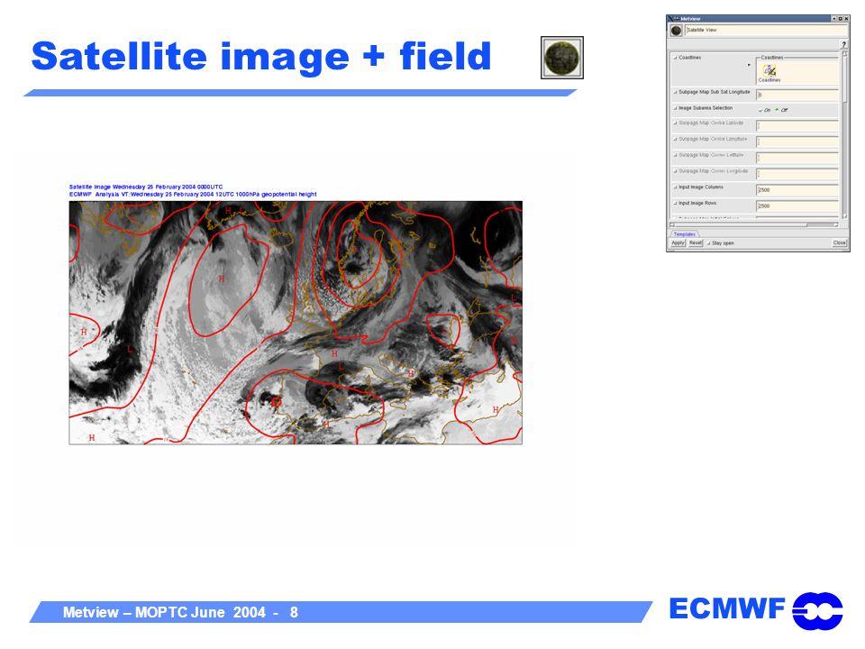 ECMWF Metview – MOPTC June 2004 - 19 Metview Concepts A Metview Task, e.g.
