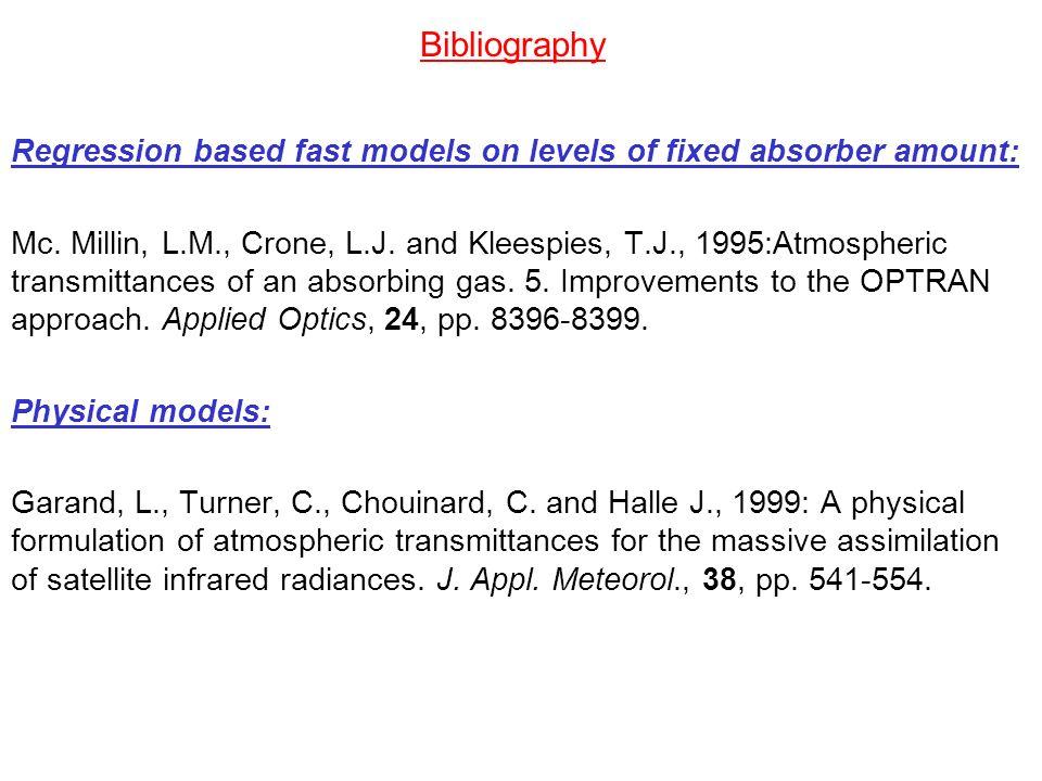 Bibliography Principal components model: X.Liu, W.L.