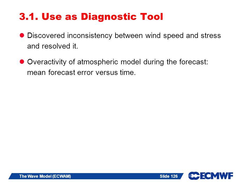 Slide 126The Wave Model (ECWAM) 3.1.