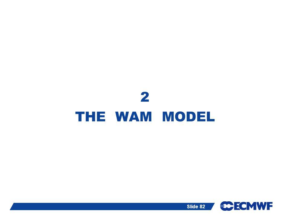 Slide 82 2 THE WAM MODEL