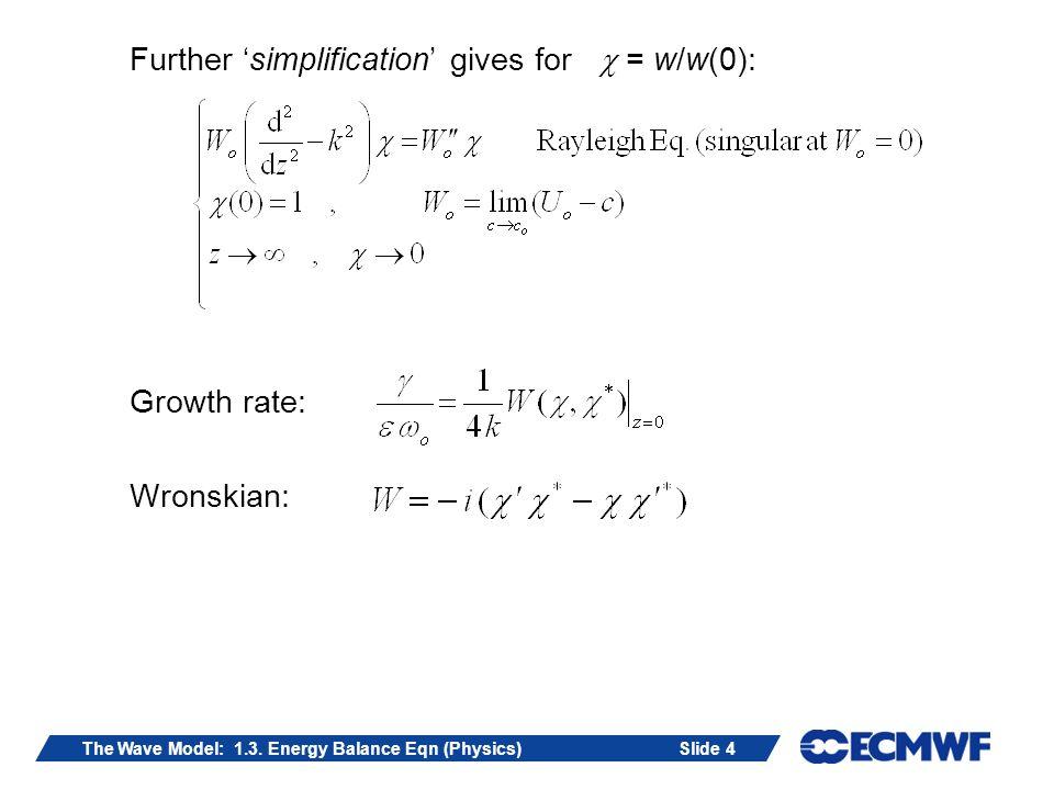 Slide 15The Wave Model: 1.3.