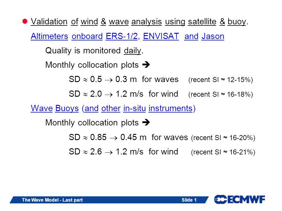 Slide 12The Wave Model - Last part 3.2.