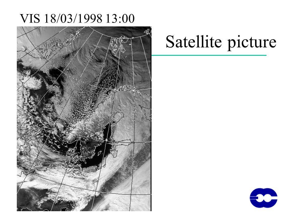 Satellite picture VIS 18/03/1998 13:00