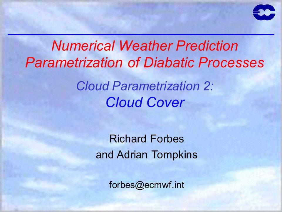 42 Prognostic statistical scheme Production of variance from convection Klein et al.