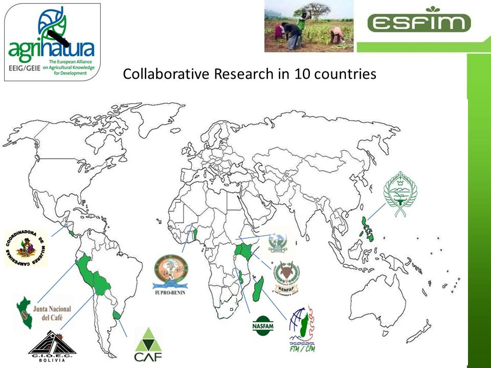 Collaborative Research in 10 countries