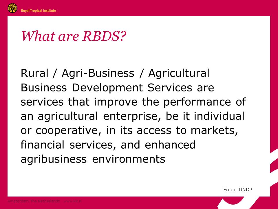What are RBDS.