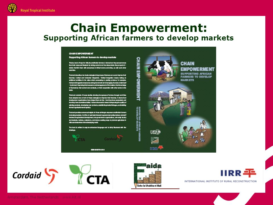 Chain Empowerment: Supporting African farmers to develop markets