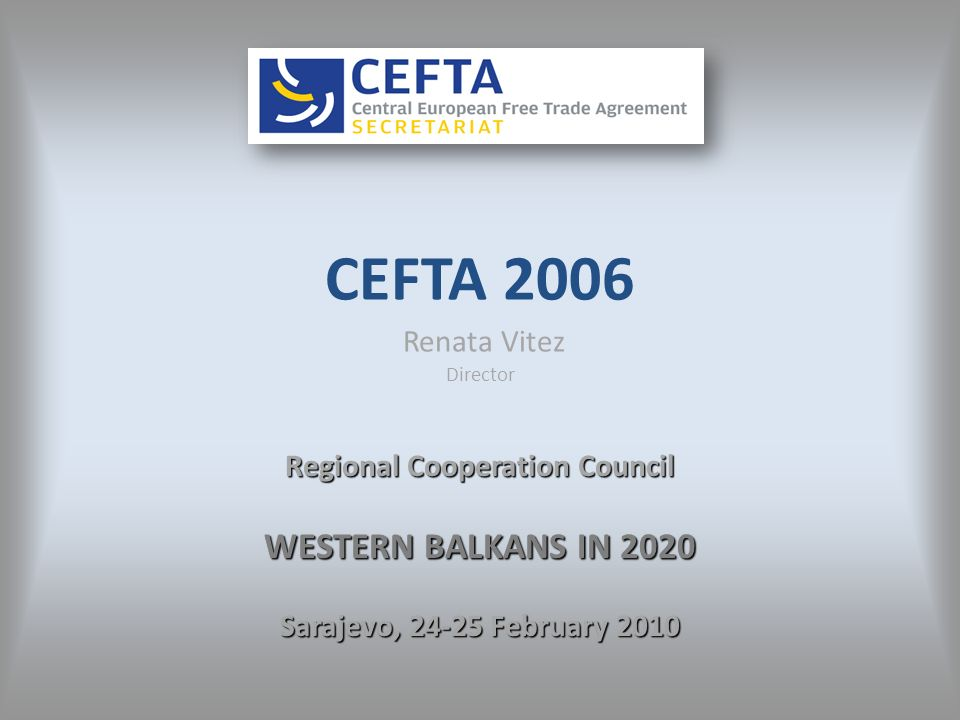 CEFTA 2006 CEFTA 2006 consolidates 32 previous bilateral free trade agreements in South East Europe.