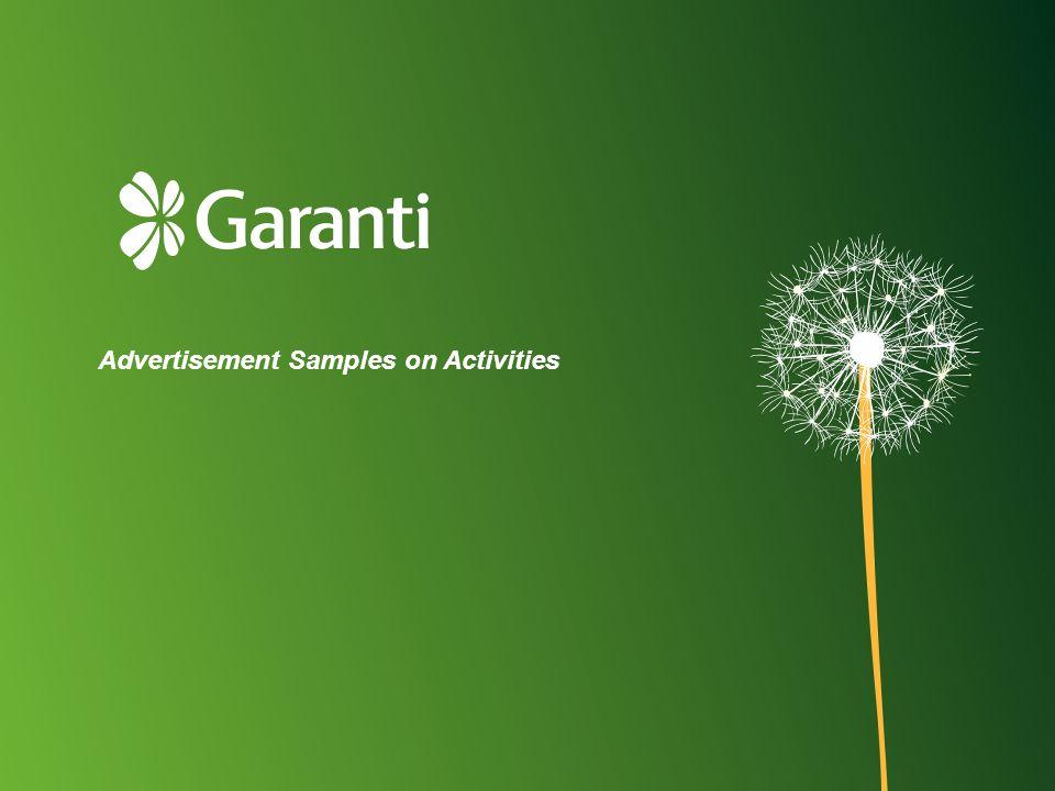 Advertisement Samples on Activities