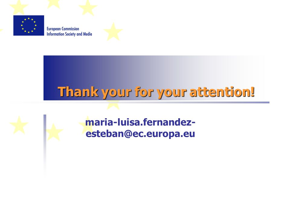Thank your for your attention! maria-luisa.fernandez-
