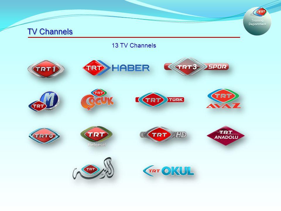 TV Channels 13 TV Channels
