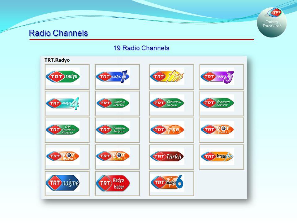 Radio Channels 19 Radio Channels