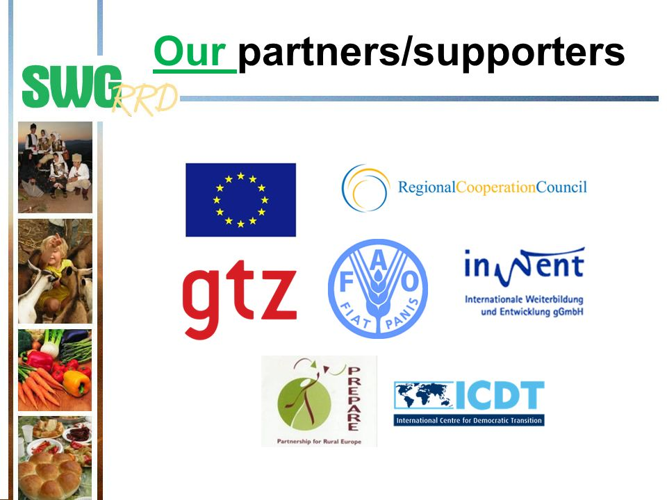 Our partners/supporters