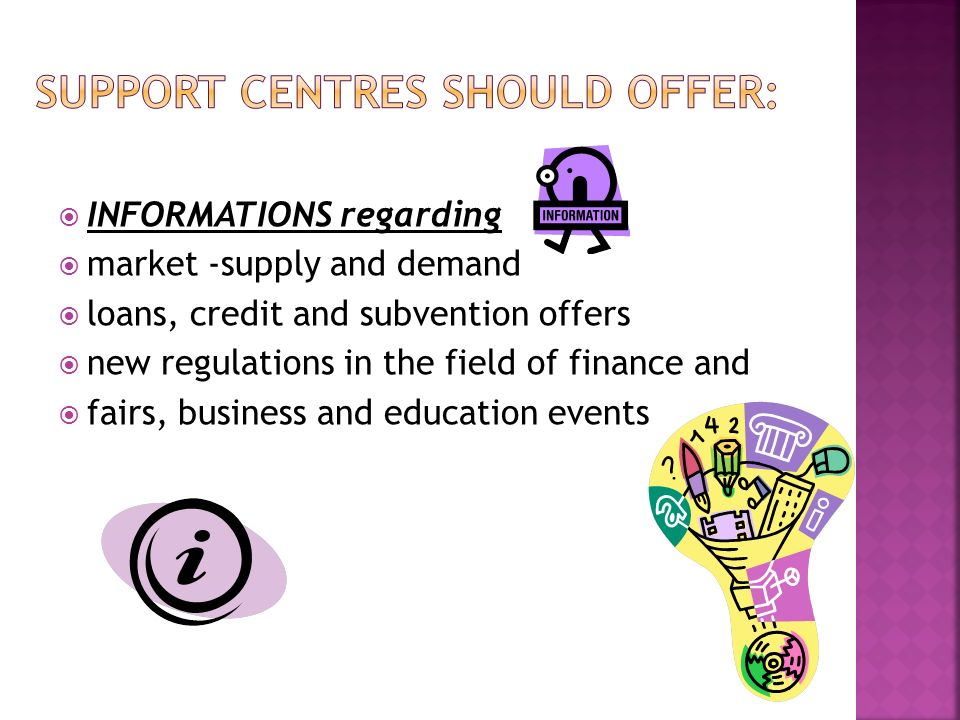 INFORMATIONS regarding market -supply and demand loans, credit and subvention offers new regulations in the field of finance and fairs, business and education events