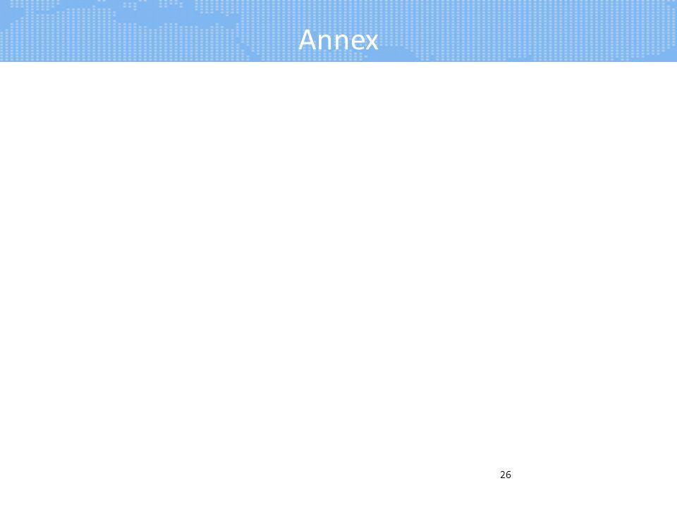Annex 26