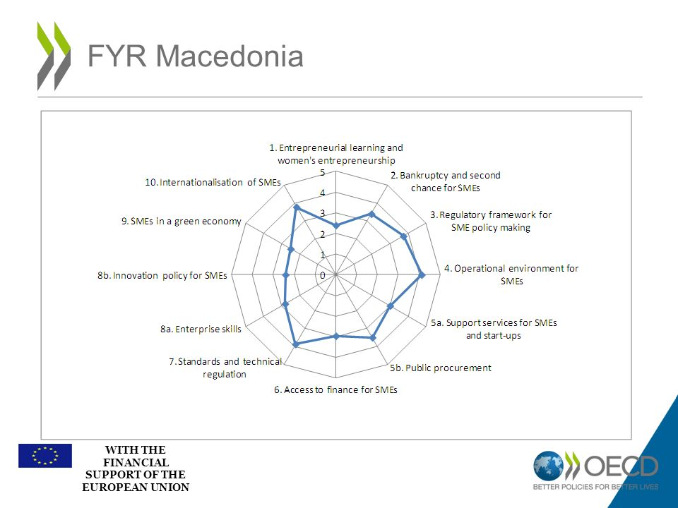 WITH THE FINANCIAL SUPPORT OF THE EUROPEAN UNION FYR Macedonia