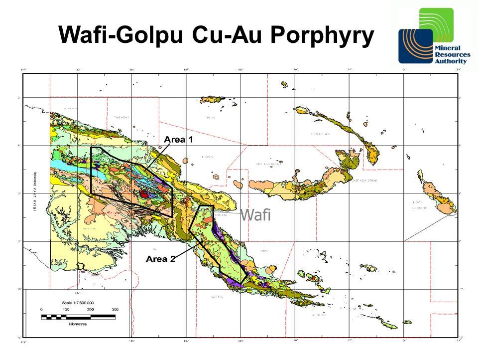Wafi Wafi-Golpu Cu-Au Porphyry