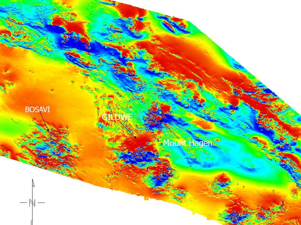 TMI magnetic of Area 1 BOSAVI GILUWE Mount Hagen