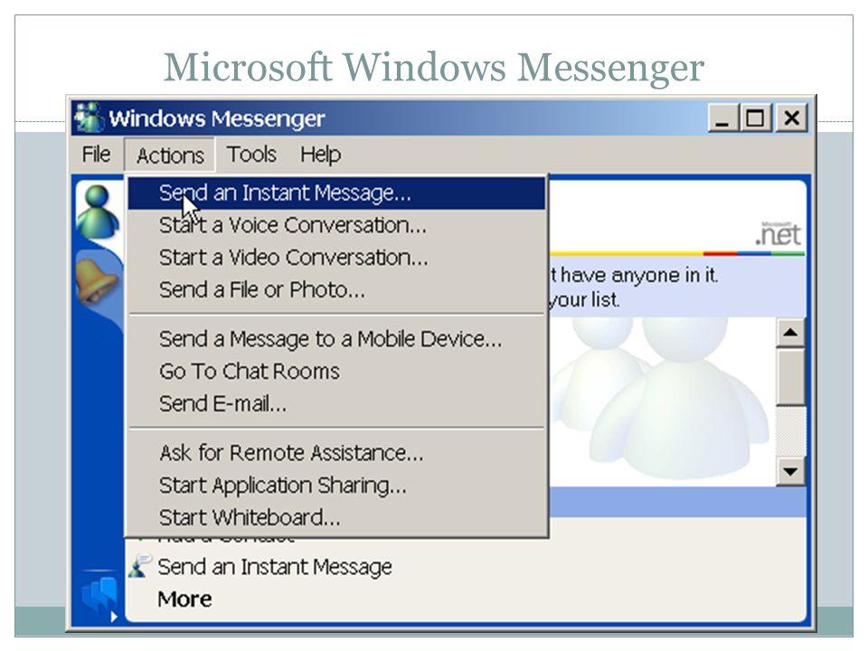 Microsoft Windows Messenger